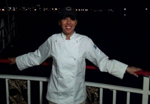 Chef Claudia of cater waiter provides catering event staff.